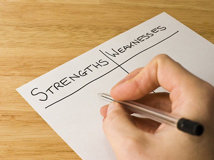 Strengths and weaknesses essay mba