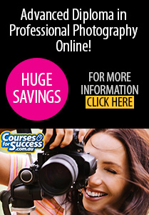 Advanced Diploma in Professional Photography Online